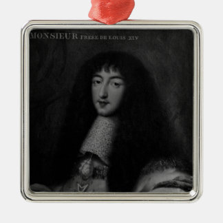 Portrait of Philippe  Duc d'Orleans Christmas Ornament