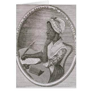 Portrait of Phillis Wheatley Card