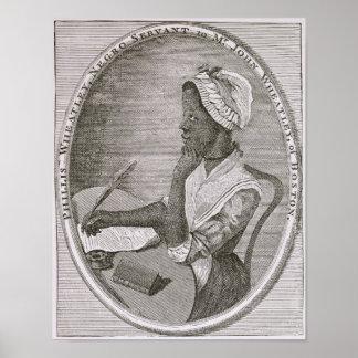 Portrait of Phillis Wheatley Poster