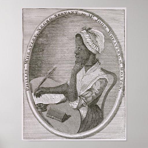 Portrait of Phillis Wheatley Print