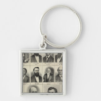 Portrait of Physicians Waste and Gaskill Key Ring
