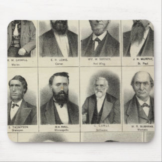 Portrait of Physicians Waste and Gaskill Mouse Mat