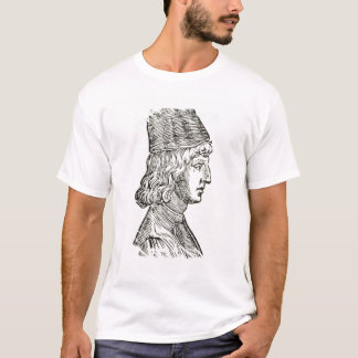 Portrait of Pico della Mirandola (1463-94), from ' T-Shirt