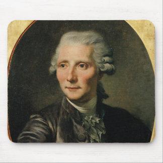 Portrait of Pierre Augustin Caron de Mouse Mat