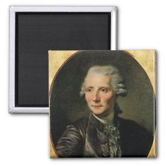 Portrait of Pierre Augustin Caron de Square Magnet
