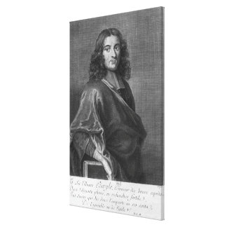 Portrait of Pierre Bayle Canvas Print