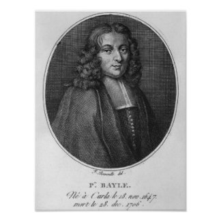 Portrait of Pierre Bayle Poster