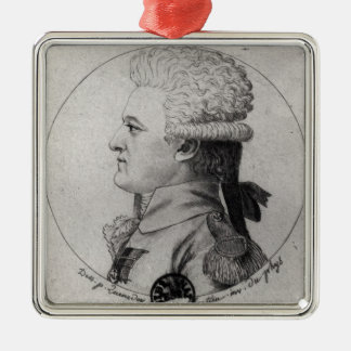 Portrait of Pierre Charles de Villeneuve Christmas Ornament