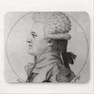 Portrait of Pierre Charles de Villeneuve Mouse Mat