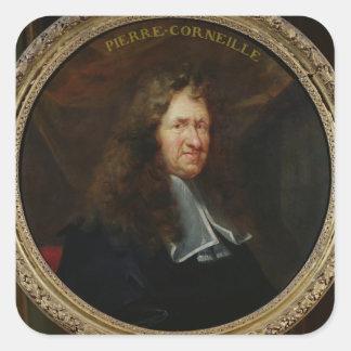 Portrait of Pierre Corneille Square Sticker