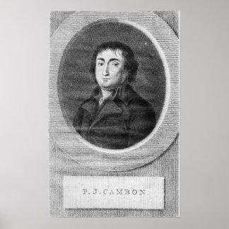 Portrait of Pierre Joseph Cambon Poster