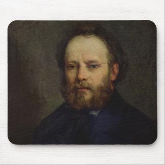 Portrait of Pierre Joseph Proudhon  1865 Mouse Mat