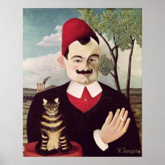 Portrait of Pierre Loti  c.1891 Poster