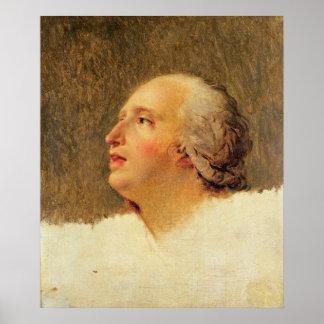 Portrait of Pierre Louis Prieur Poster