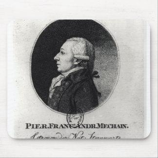 Portrait of Pierre Mechain Mouse Mat
