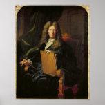 Portrait of Pierre Mignard  c.1690 Poster