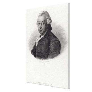 Portrait of Pierre Poivre Canvas Print