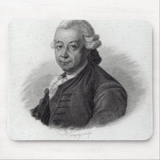 Portrait of Pierre Poivre Mouse Mat
