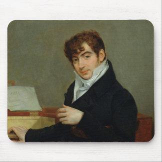 Portrait of Pierre Zimmermann  1808 Mouse Mat