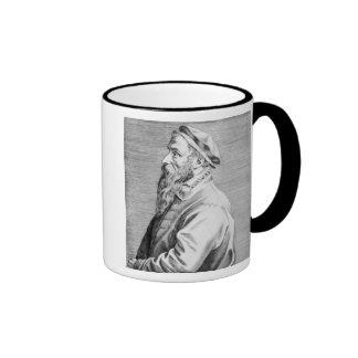 Portrait of Pieter Brueghel the Elder Ringer Mug