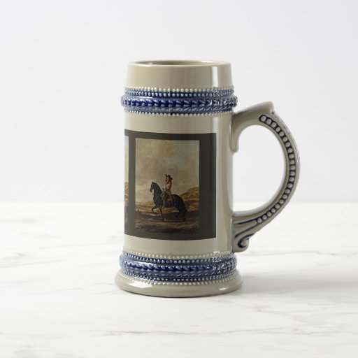 Portrait Of Pieter Schout Horse By Keyser Thomas D Coffee Mugs