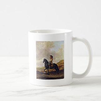 Portrait Of Pieter Schout Horse By Keyser Thomas D Basic White Mug