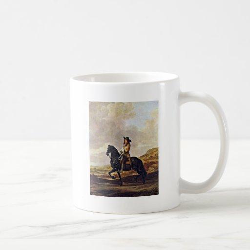 Portrait Of Pieter Schout Horse By Keyser Thomas D Mug