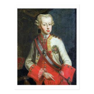 Portrait of Pietro Leopoldo di Lorena, c.1750 (oil Postcard