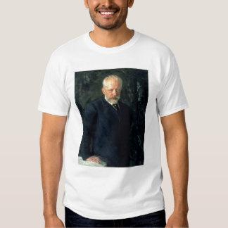 Portrait of Piotr Ilyich Tchaikovsky T Shirts