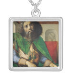 Portrait of Plato  c.1475 Silver Plated Necklace