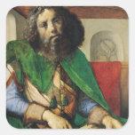 Portrait of Plato  c.1475 Square Sticker