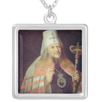 Portrait of Plato II, Metropolitan of Moscow Custom Necklace