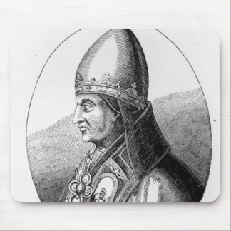 Portrait of Pope Gregory IX Mouse Mat