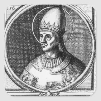 Portrait of Pope Gregory VII Square Sticker