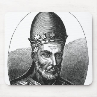 Portrait of Pope Honorius III Mouse Mat
