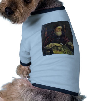 Portrait Of Pope Julius Ii By Raffael Pet T Shirt