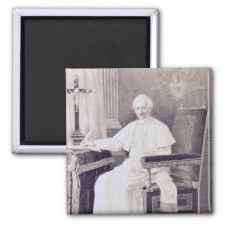 Portrait of Pope Leo XIII Magnet