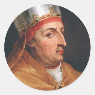 Portrait of Pope Nicholas V Peter Paul Rubens Sticker