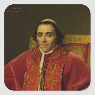 Portrait of Pope Pius VII , 1805 Square Sticker