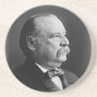Portrait of President Stephen Grover Cleveland Coasters