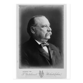 Portrait of President Stephen Grover Cleveland Postcard