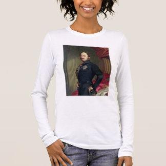 Portrait of Prince Albert (1819-61) 1859 (oil on c Long Sleeve T-Shirt