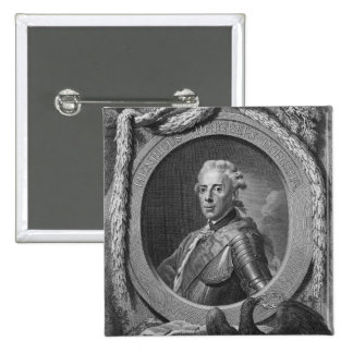 Portrait of Prince Henry of Prussia , 1779 15 Cm Square Badge