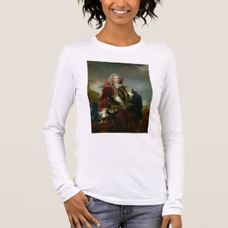 Portrait of Prince Jacques 1er Grimaldi (oil on ca Long Sleeve T-Shirt