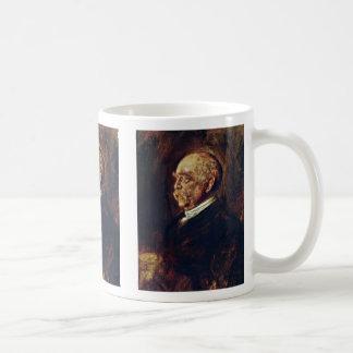 Portrait Of Prince Otto Von Bismarck Basic White Mug
