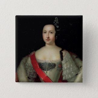 Portrait of Princess Anna 15 Cm Square Badge