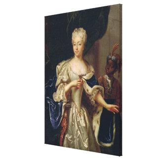Portrait of Princess Canvas Print