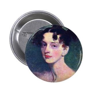 Portrait Of Princess Lieven By Sir Thomas 6 Cm Round Badge