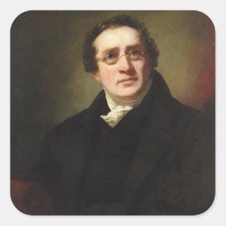 Portrait of Professor George Bell by Henry Raeburn Sticker