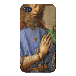 Portrait of Ptolemy, c.1475 iPhone 4 Cover
